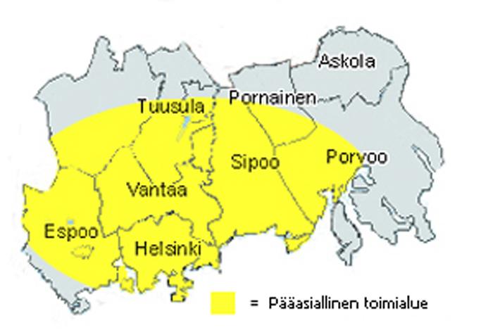 Pääkaupunkiseutu Asukasluku